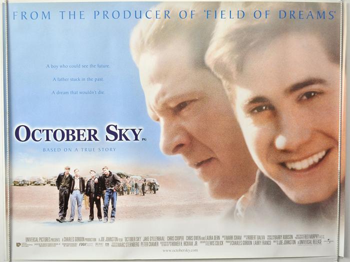 October Sky - Original Cinema Movie Poster From pastposters.com ...
