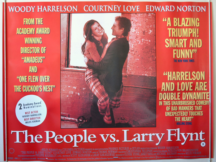 People Vs Larry Flynt (The) - Original Cinema Movie Poster From ...
