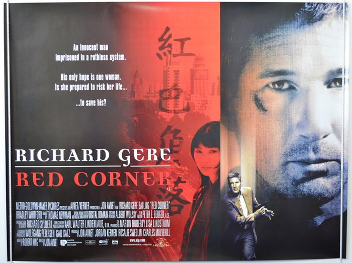 Red Corner - Original Cinema Movie Poster From pastposters.com ...