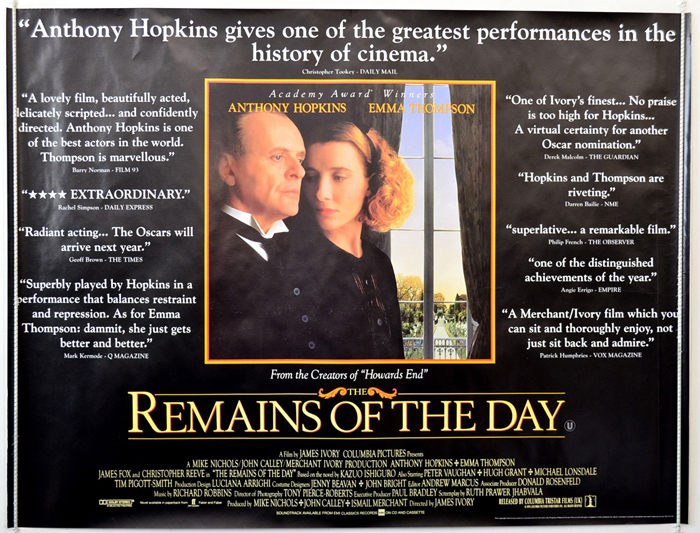Remains Of The Day (The) <p><i> (Quotes Version) </i></p ...