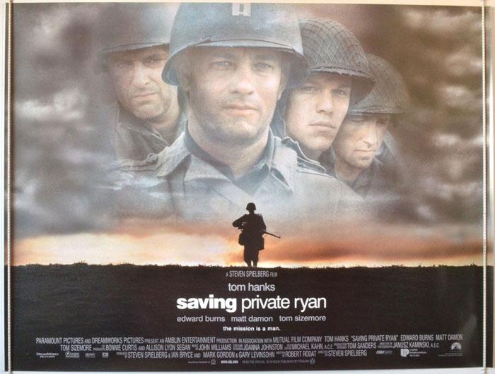 Saving Private Ryan - Original Cinema Movie Poster From ...