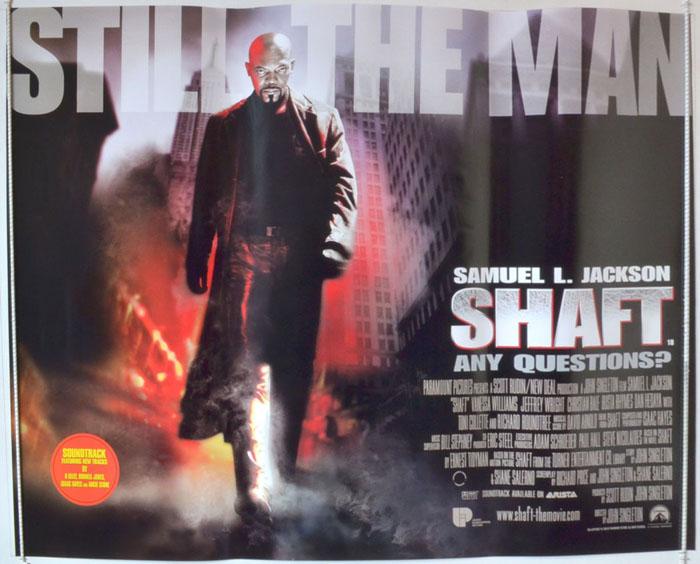 Shaft - Original Cinema Movie Poster From pastposters.com British ...