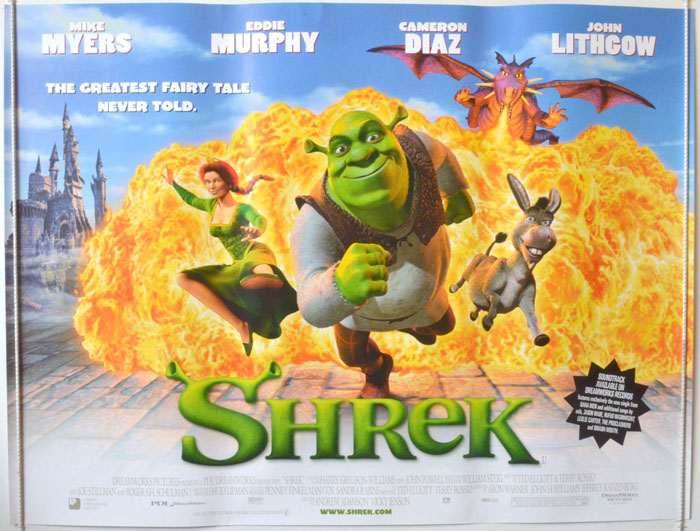 Shrek - Original Cinema Movie Poster From pastposters.com British ...