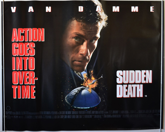 Sudden Death - Original Cinema Movie Poster From pastposters.com ...
