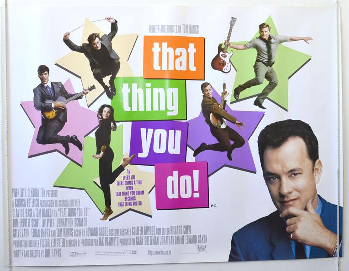 That Thing You Do <p><i> (Design 2) </i></p> - Original Cinema ...