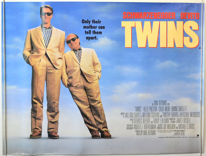 Twins - Original Cinema Movie Poster From pastposters.com British ...