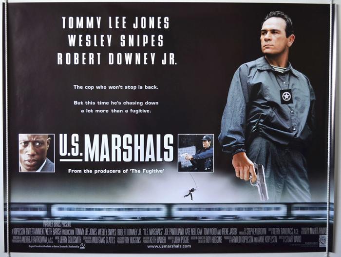 U.S. Marshals - Original Cinema Movie Poster From pastposters.com ...