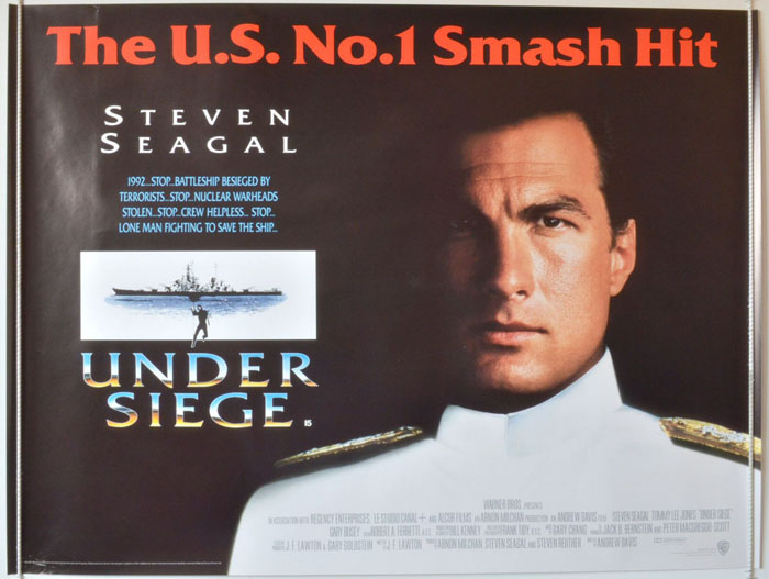 Under Siege - Original Cinema Movie Poster From pastposters.com British  Quad Posters and US 1-Sheet Posters