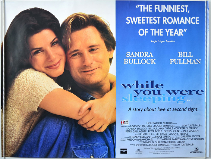 While You Were Sleeping - Original Cinema Movie Poster From ...