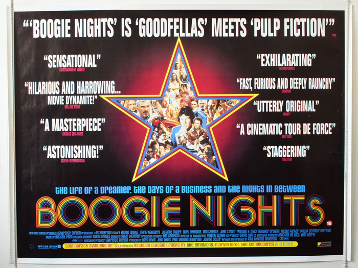 Image result for boogie nights poster