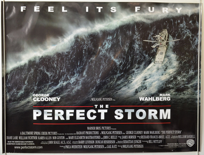 Perfect Storm (The) - Original Cinema Movie Poster From ...