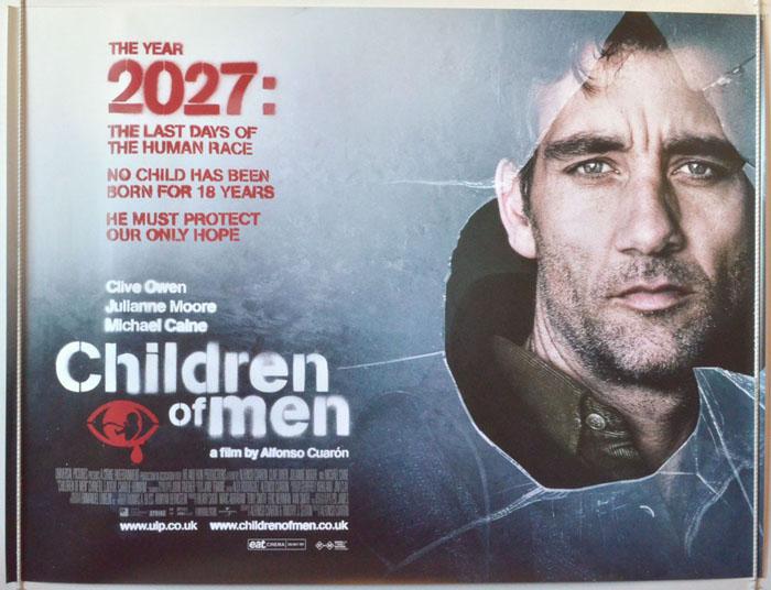 Children Of Men - Original Cinema Movie Poster From