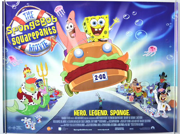 Spongebob Squarepants Movie (The) - Original Cinema Movie Poster ...