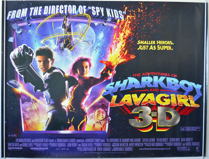 Adventures Of Sharkboy and Lavagirl (The)
