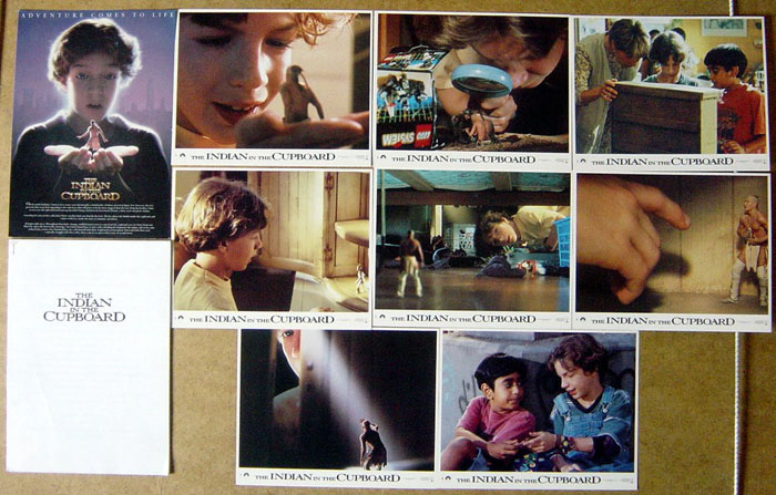 Indian In The Cupboard (The) <p><i> Set Of 8 Lobby Cards </i></p>