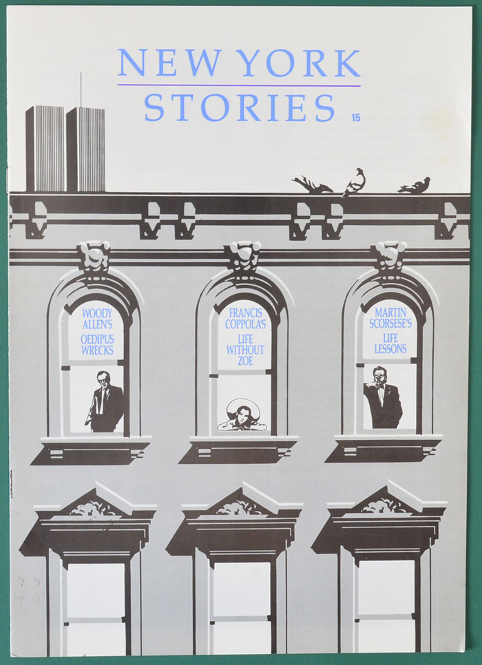 New York Stories <p><i> Original 8 Page Cinema Exhibitors Information Booklet </i></p>
