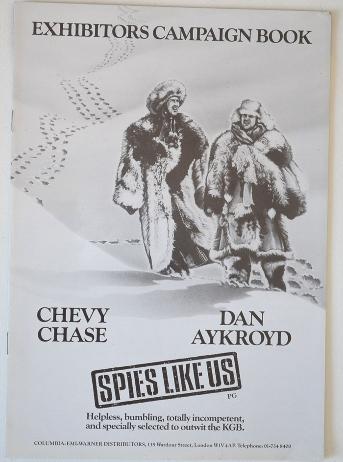 Spies Like Us <p><i> Original 8 Page Cinema Exhibitors Campaign Press Book </i></P>