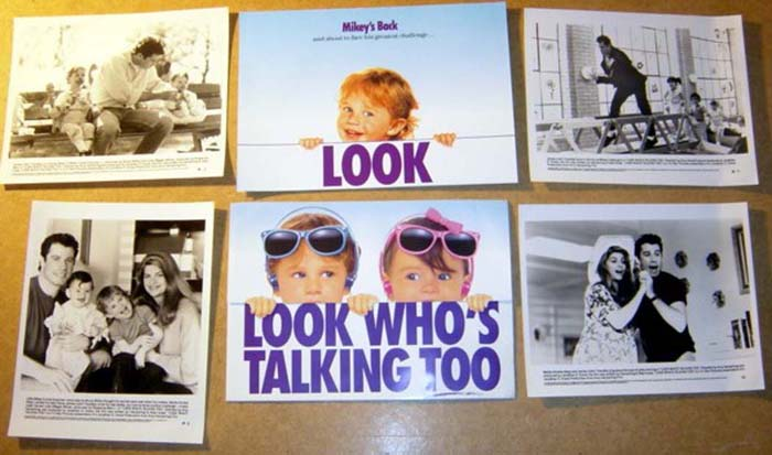 Look Who's Talking Too<br><p><i>Original Press Kit With 4 Stills</i></p>