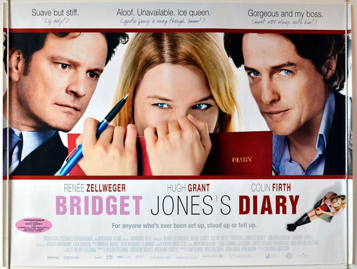 Bridget Jones's Diary - Original Cinema Movie Poster From ...