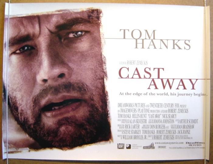 Cast Away - Original Cinema Movie Poster From pastposters.com ...