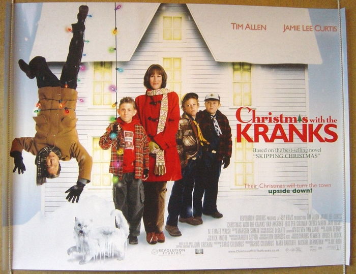 Christmas With The Kranks House.Christmas With The Kranks Original Cinema Movie Poster