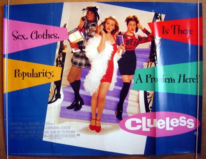 Clueless - Original Cinema Movie Poster From pastposters.com ...