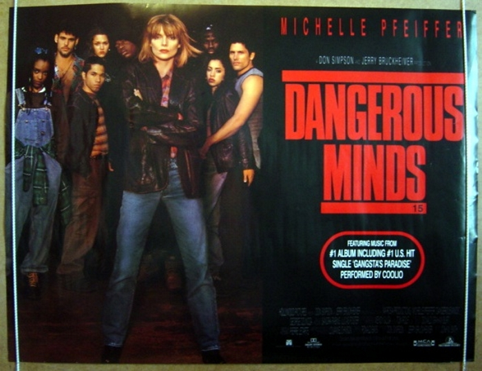 Dangerous Minds - Original Cinema Movie Poster From pastposters ...