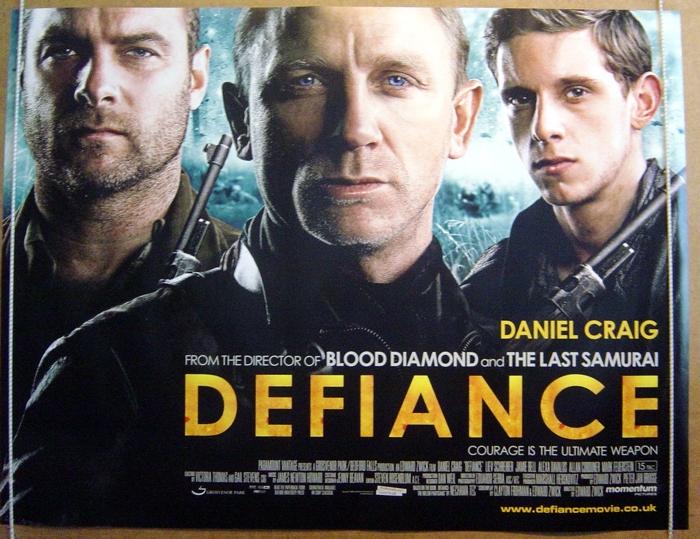 Defiance - Original Cinema Movie Poster From pastposters.com ...