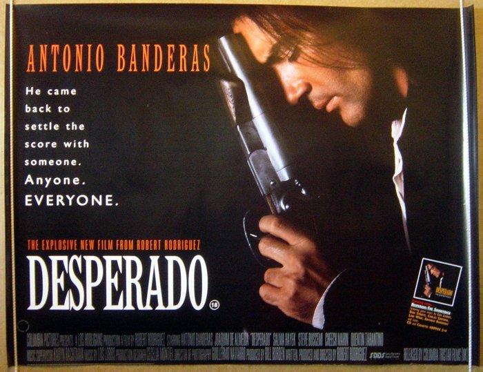 Desperado Original Cinema Movie Poster From Pastposters Com British Quad Posters And Us 1 Sheet Posters