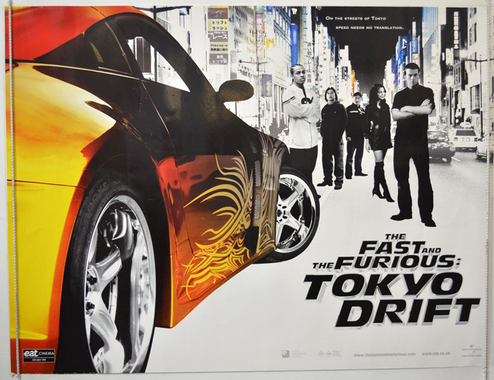 Fast And Furious 3 Full Movie >> Fast And The Furious Tokyo Drift Original Cinema Movie Poster