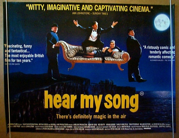 Hear My Song - Original Cinema Movie Poster From pastposters.com ...