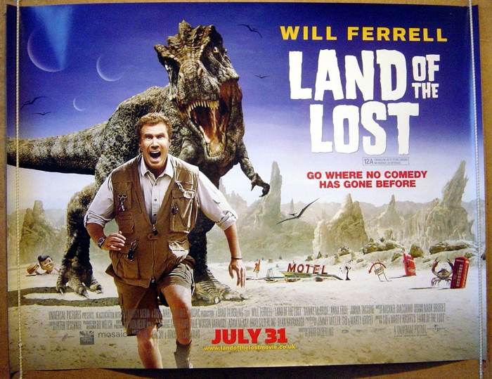Land Of The Lost - Original Cinema Movie Poster From pastposters ...