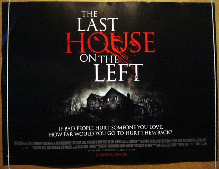 Movie Posters 2009: Last House On The Left (The)