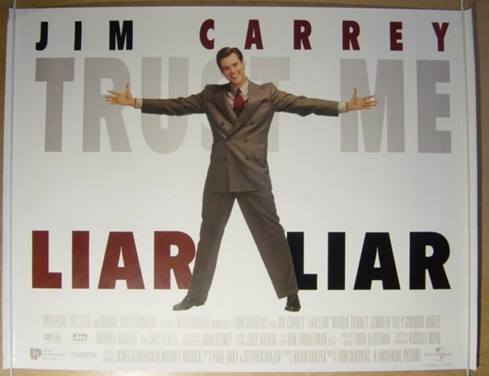 Liar Liar - Original Cinema Movie Poster From pastposters.com ...