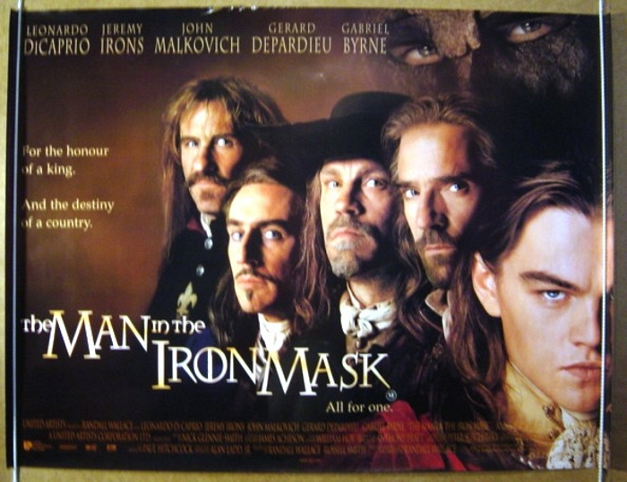 Man In The Iron Mask (The) - Original Cinema Movie Poster From ...
