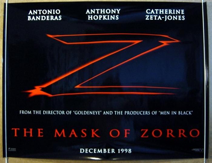 Mask Of Zorro (The) <p><i> (Teaser) </i></p> - Original Cinema ...