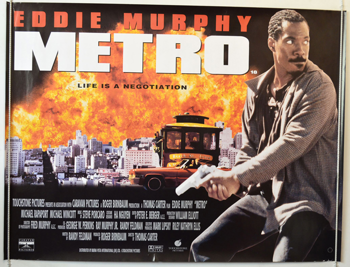 Metro - Original Cinema Movie Poster From pastposters.com British ...
