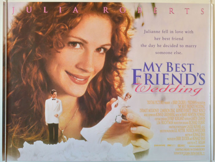 My Best Friend's Wedding - Original Cinema Movie Poster From ...