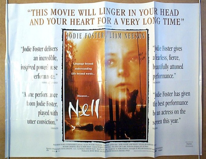 Nell - Original Cinema Movie Poster From pastposters.com British ...
