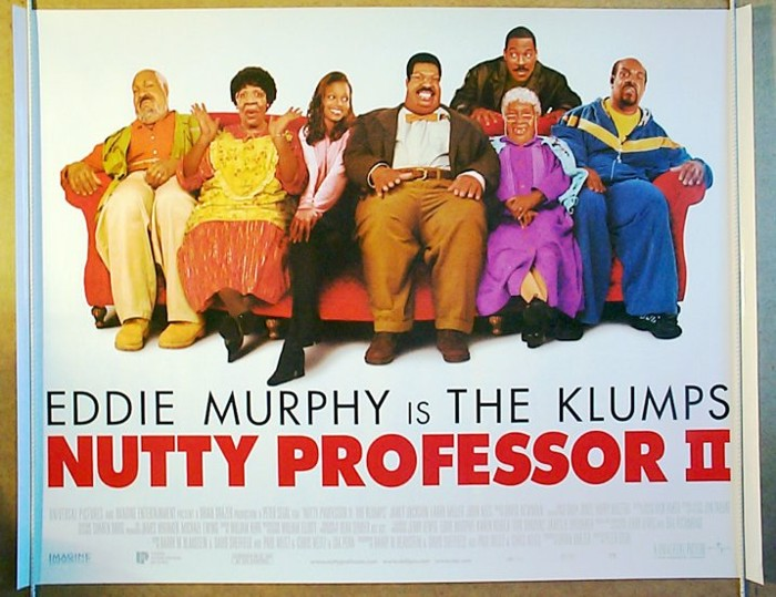 Nutty Professor II : The Klumps - Original Cinema Movie Poster ...