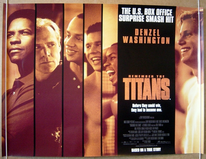Remember The Titans - Original Cinema Movie Poster From ...