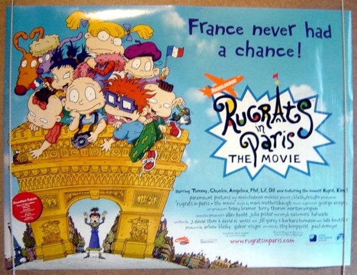 Rugrats In Paris Original Cinema Movie Poster From