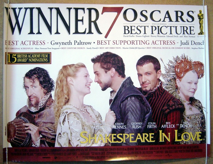 Shakespeare In Love Pi Oscars Version I