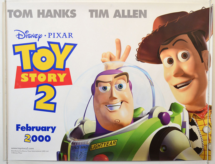 Toy Story 2 <p><i> (Teaser / Advance Version) </i></p> - Original ...