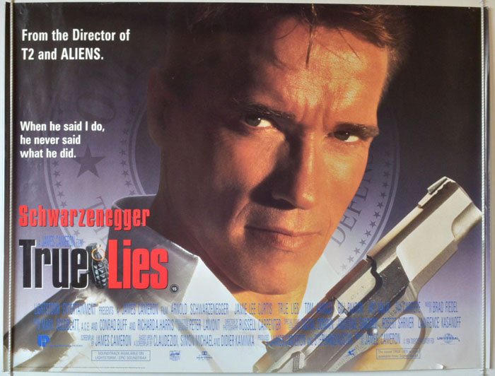 True Lies - Original Cinema Movie Poster From pastposters.com ...
