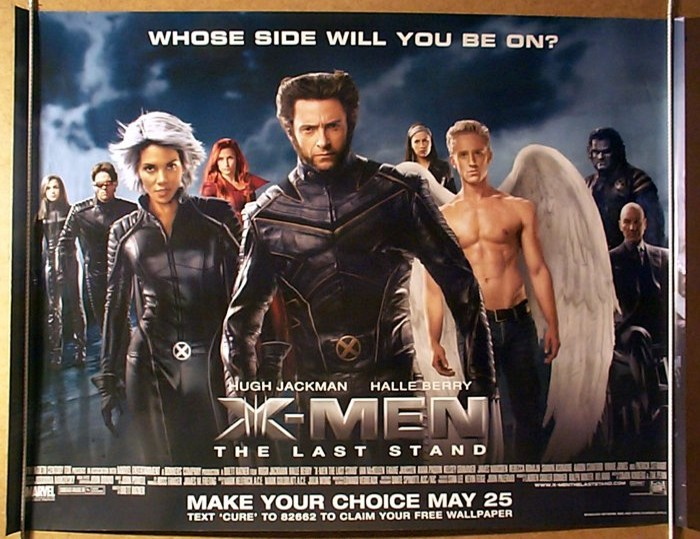 X-Men 3 - Original Cinema Movie Poster From pastposters.com ...