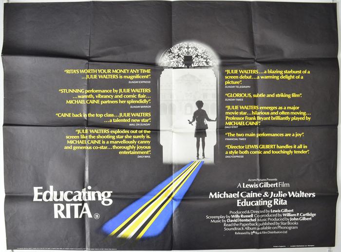 Educating Rita - Original Movie Poster