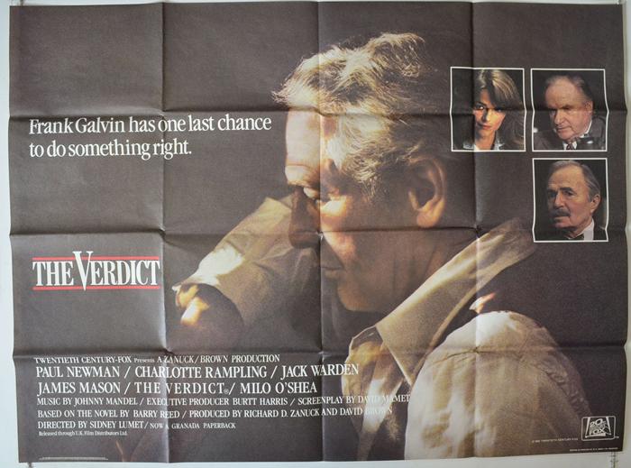 Verdict (The) - Original Cinema Movie Poster From pastposters.com ...