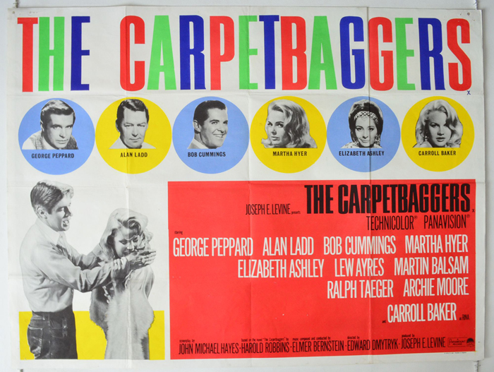 Carpetbaggers (The) - Original Cinema Movie Poster From ...