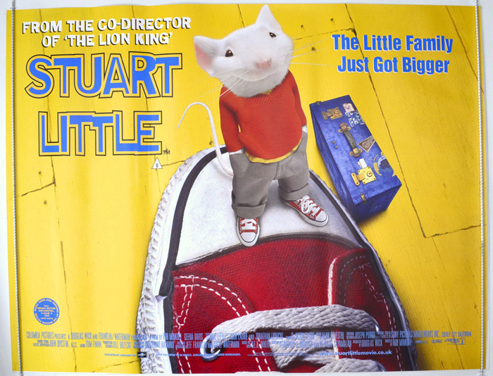 Stuart Little - Original Cinema Movie Poster From pastposters.com ...